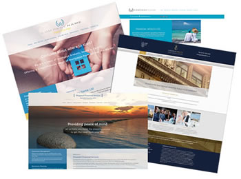 Financial Planning Web Site Design